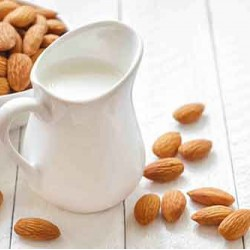Fresh Raw Almond Milk - From Sprouted Almonds