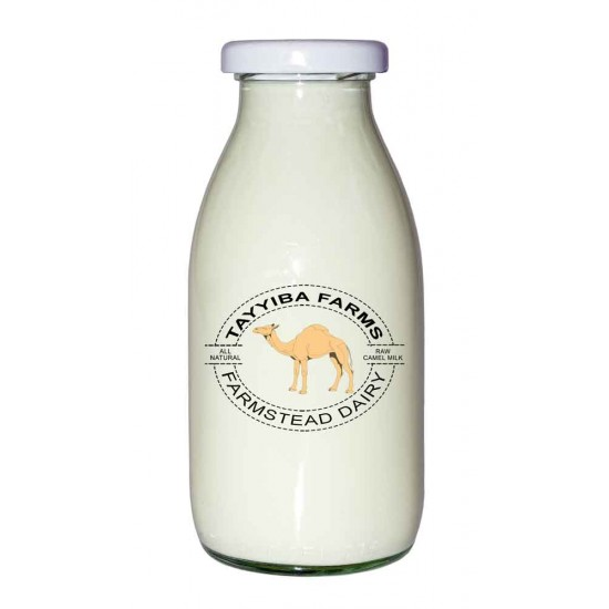 Frozen Raw Camel's Milk - 1L
