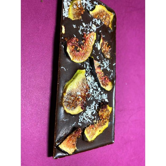 Dark Chocolate with Dried Figs and Coconut sugar - 45g