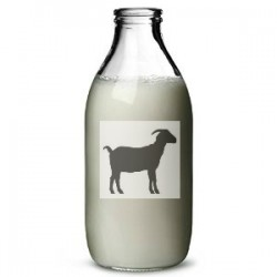 Fresh Pasteurized Goat Milk - 0.9L